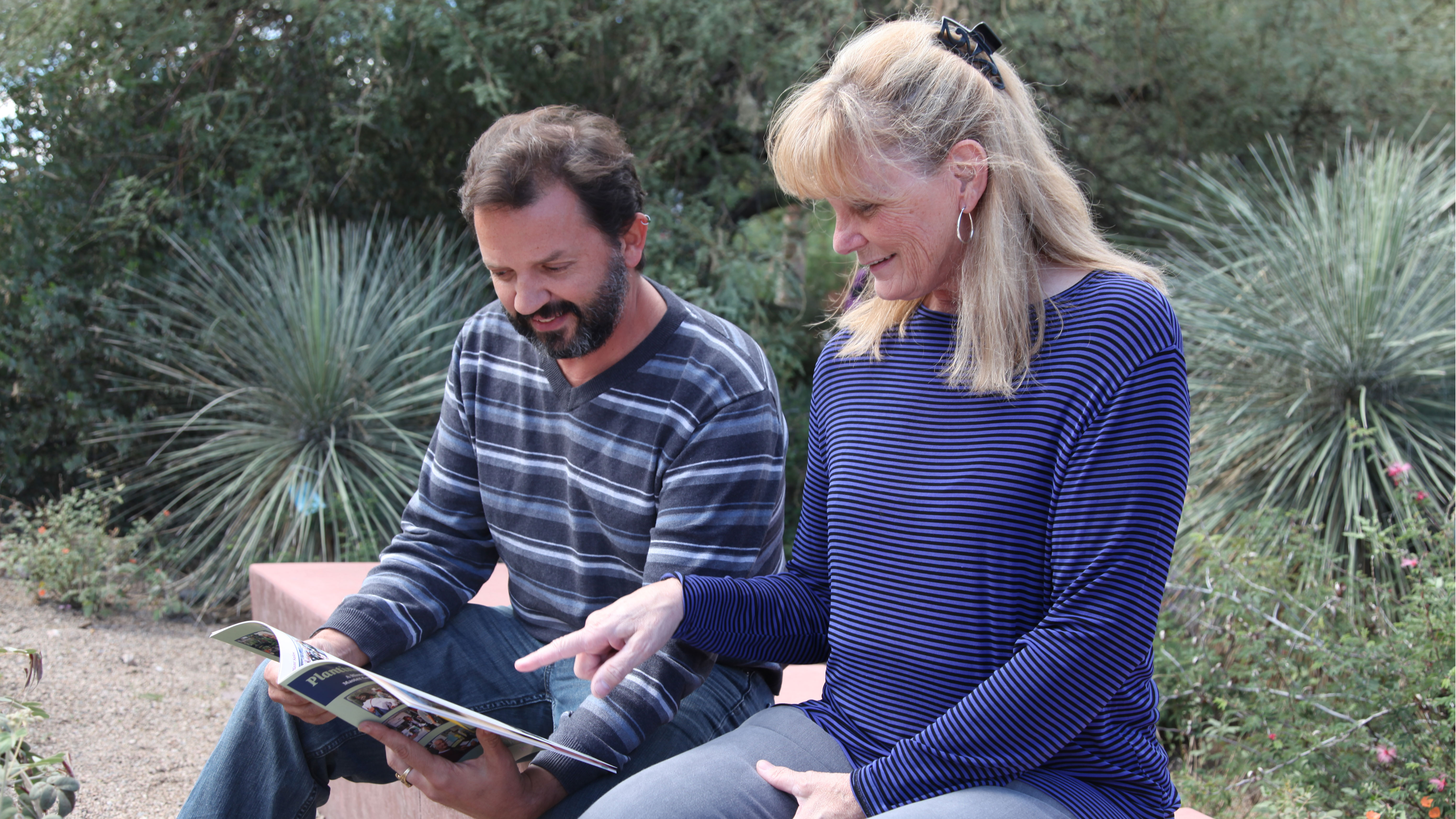Eric and Francine Master Gardeners