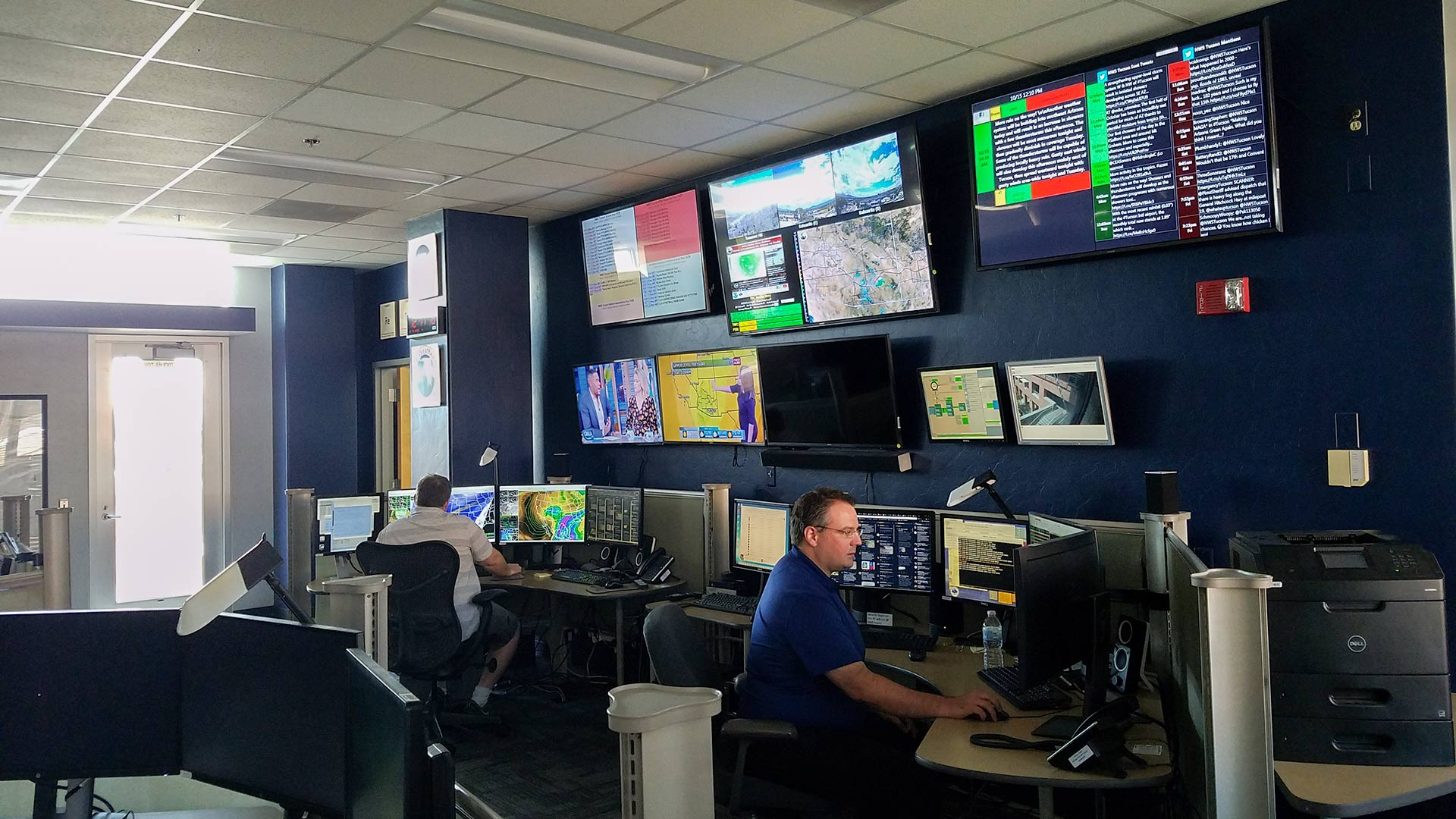 The National Weather Service in Tucson, Arizona.