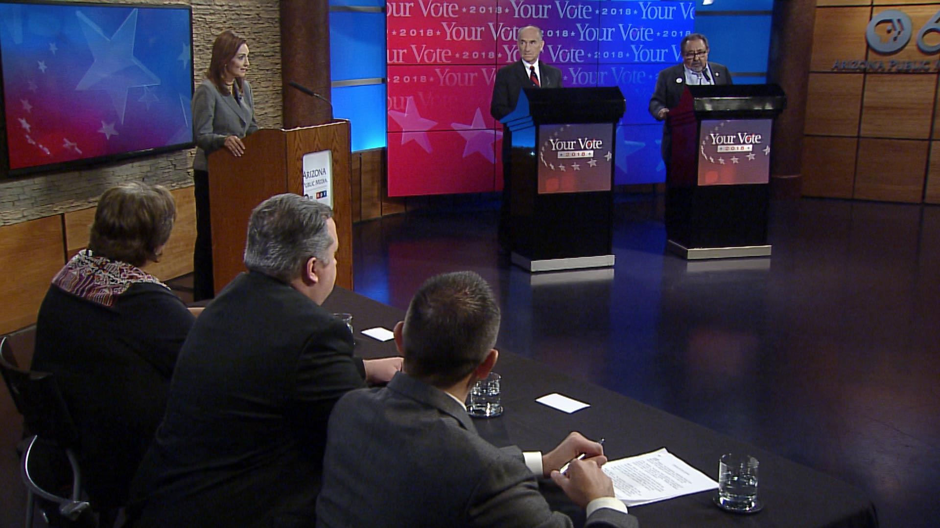 The Your Vote 2018 Congressional District 3 debate held at Arizona Public Media on October 17, 2018.