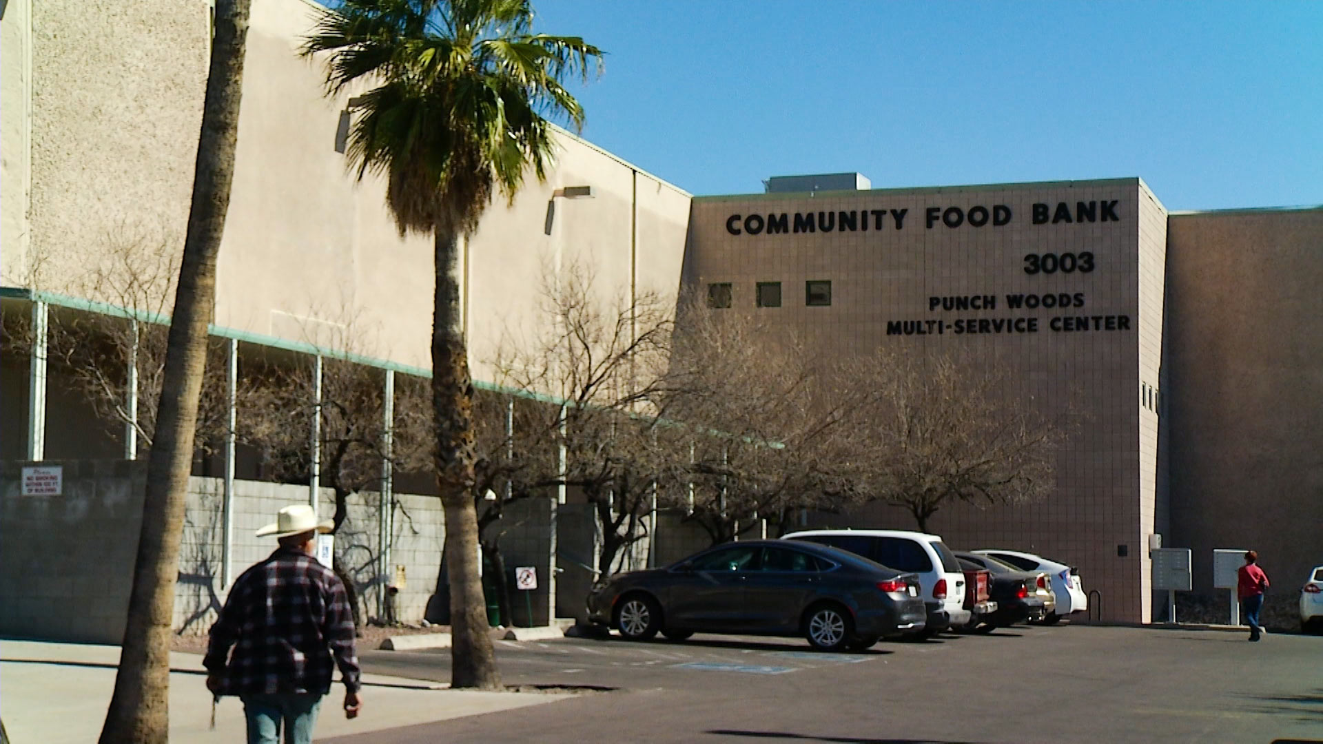 The main branch of the Community Food Bank of Southern Arizona.