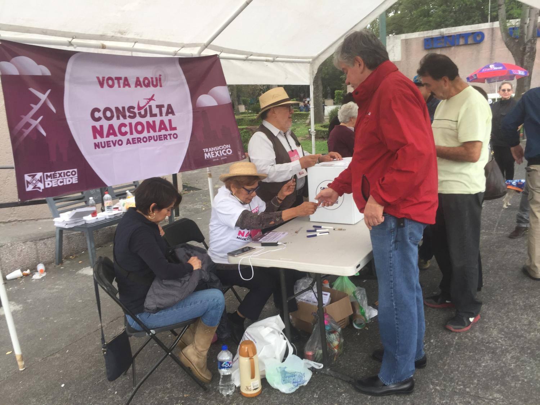 Mexico City airport vote