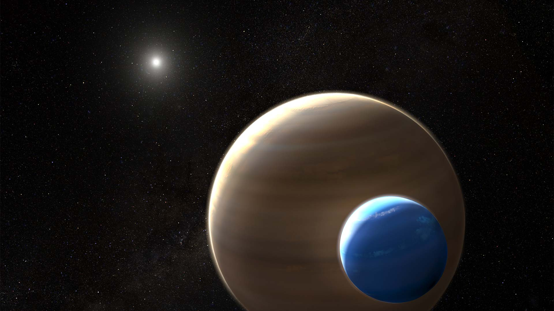 Scientists have found evidence of a possible exomoon, though they stress the need for more data and observations.
