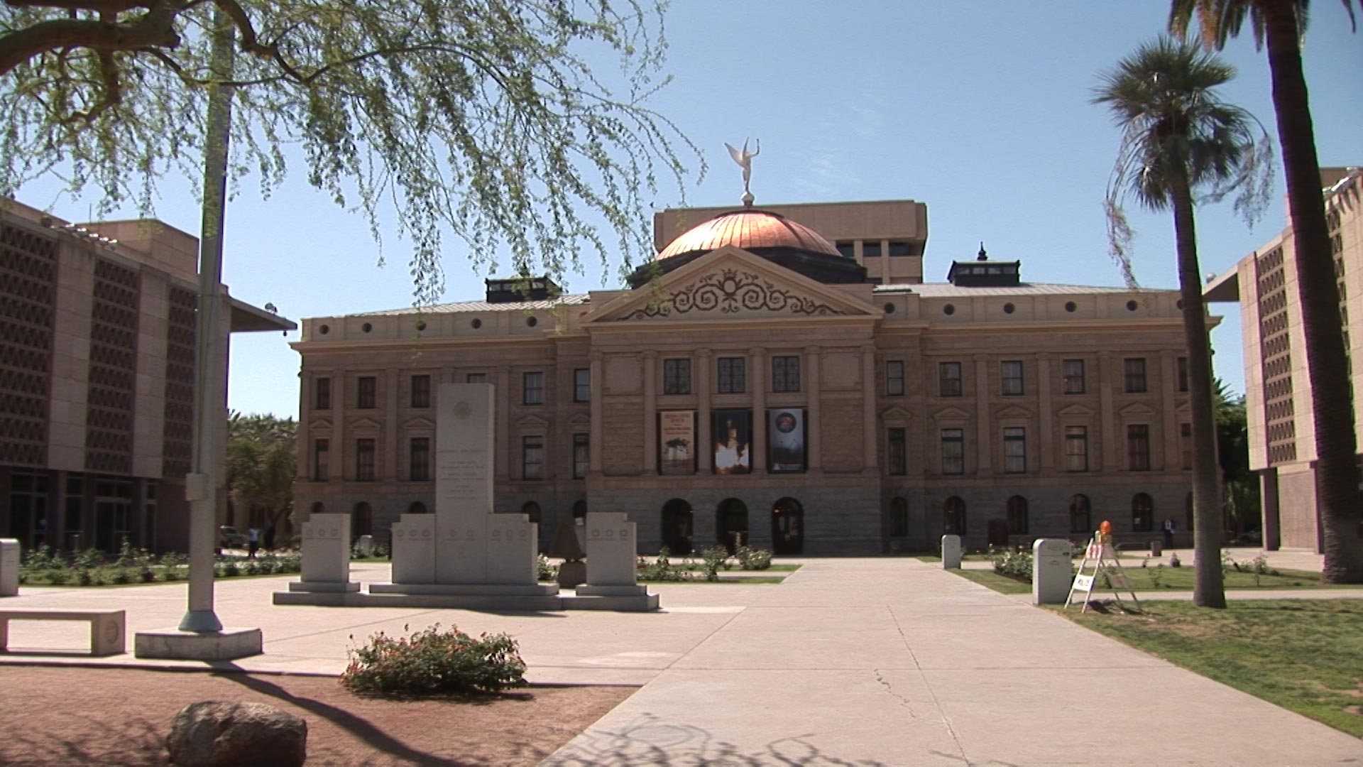 File image of the Arizona Capitol in Phoenix.