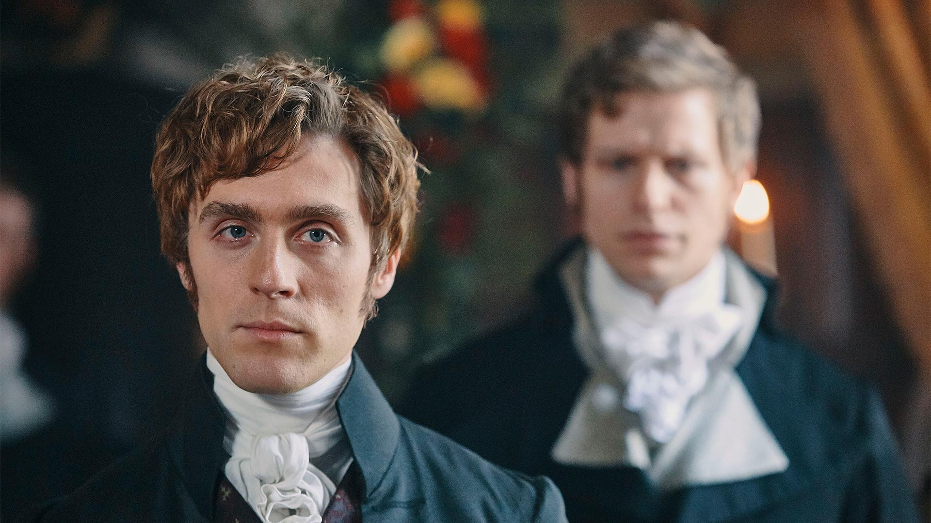 Shown: Jack Farthing as George Warleggan