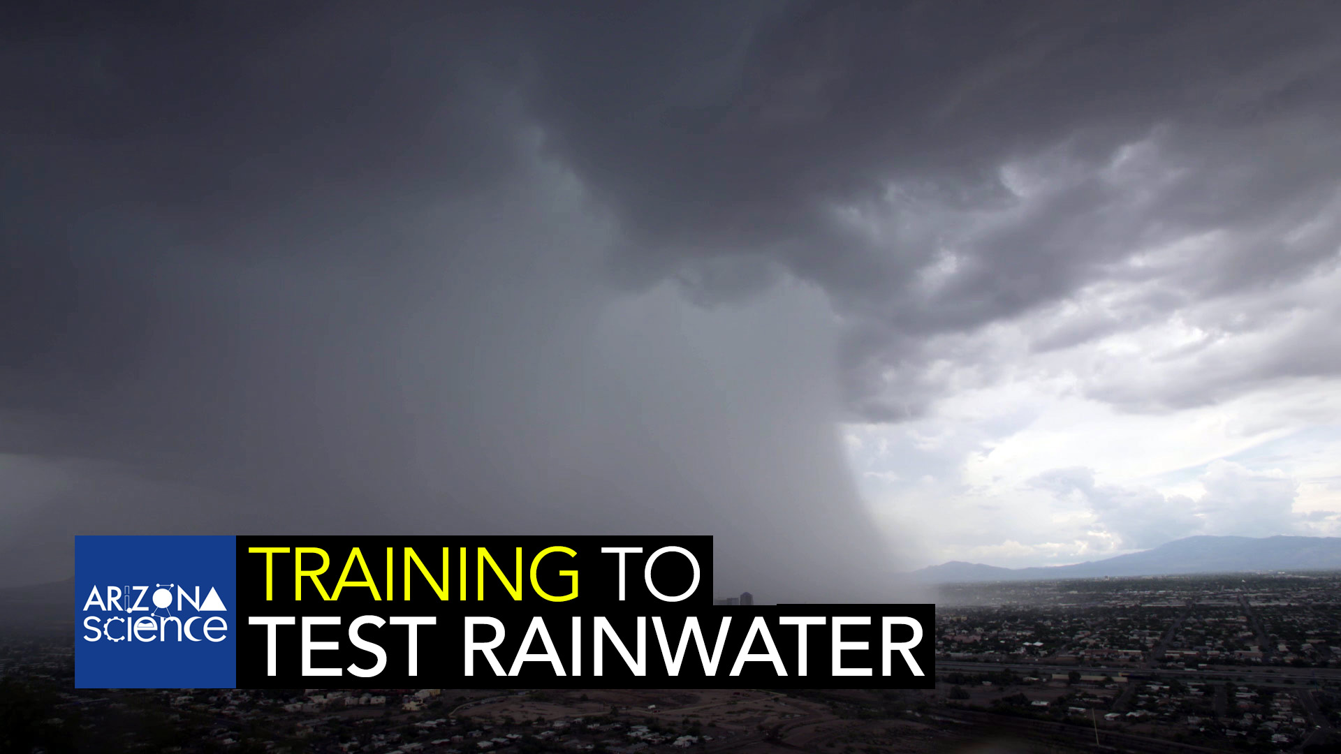 AZSCI Training for Testing Rainwater