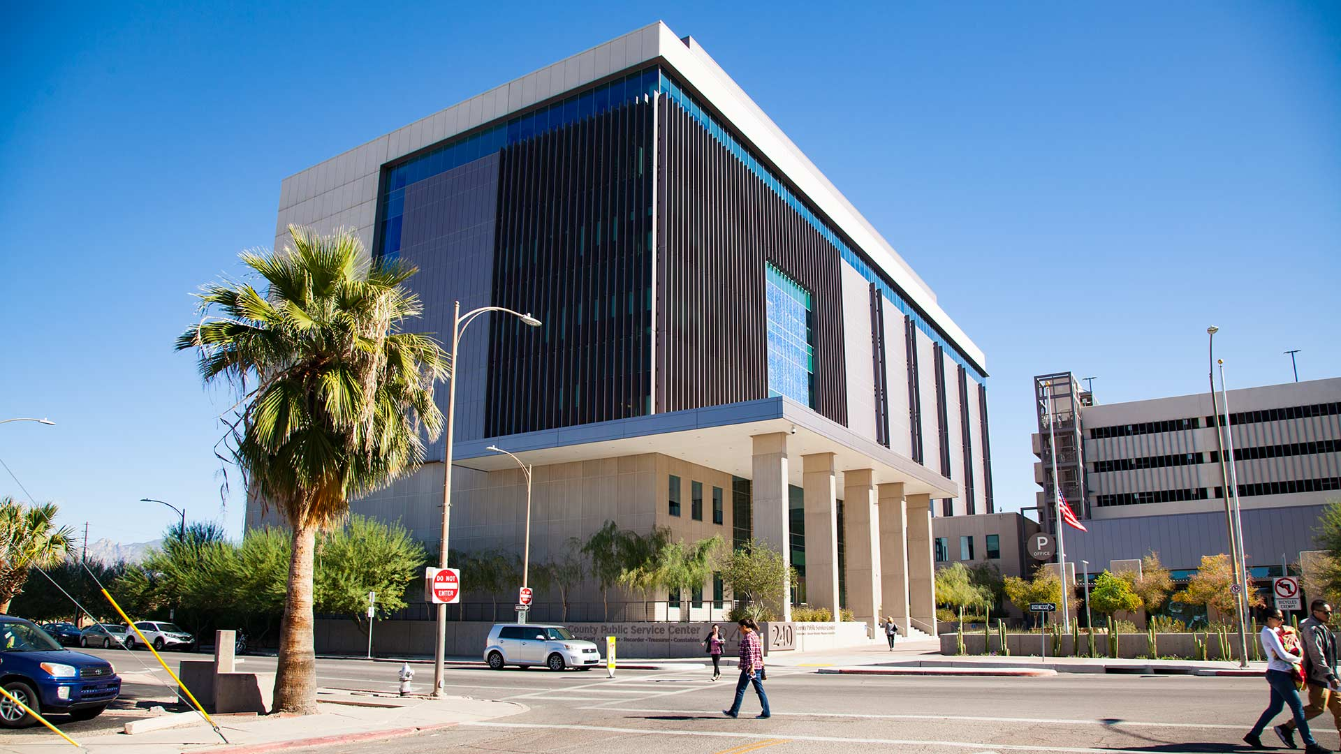 The Pima County Public Service Center is home to the county recorder.