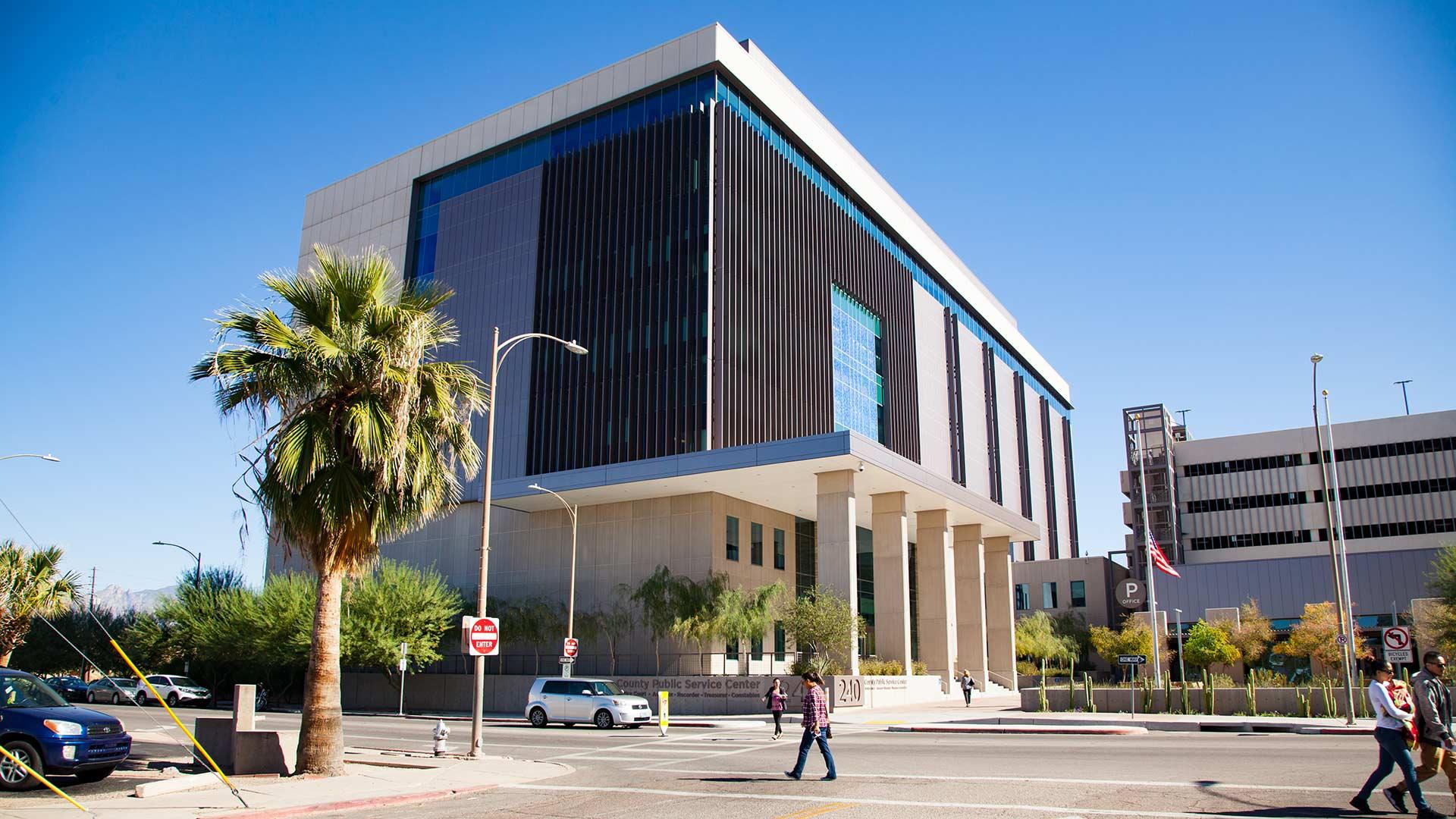 Pima public services building