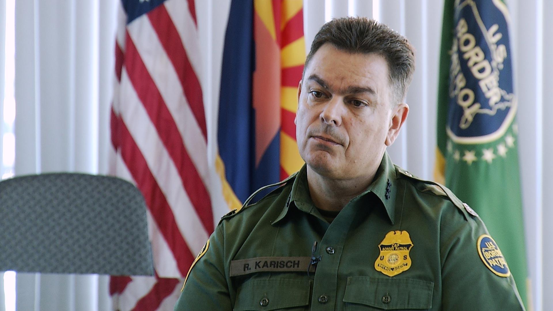 Border Patrol Tucson Sector Chief Rodolfo Karisch
