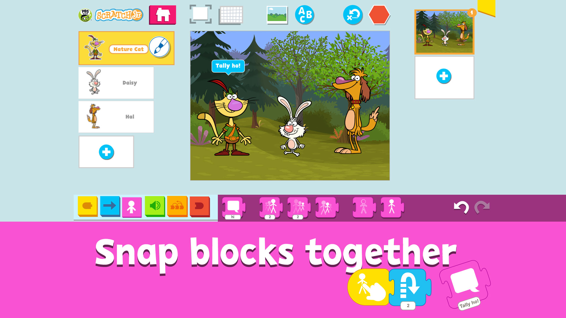 scratchjr app screenshot