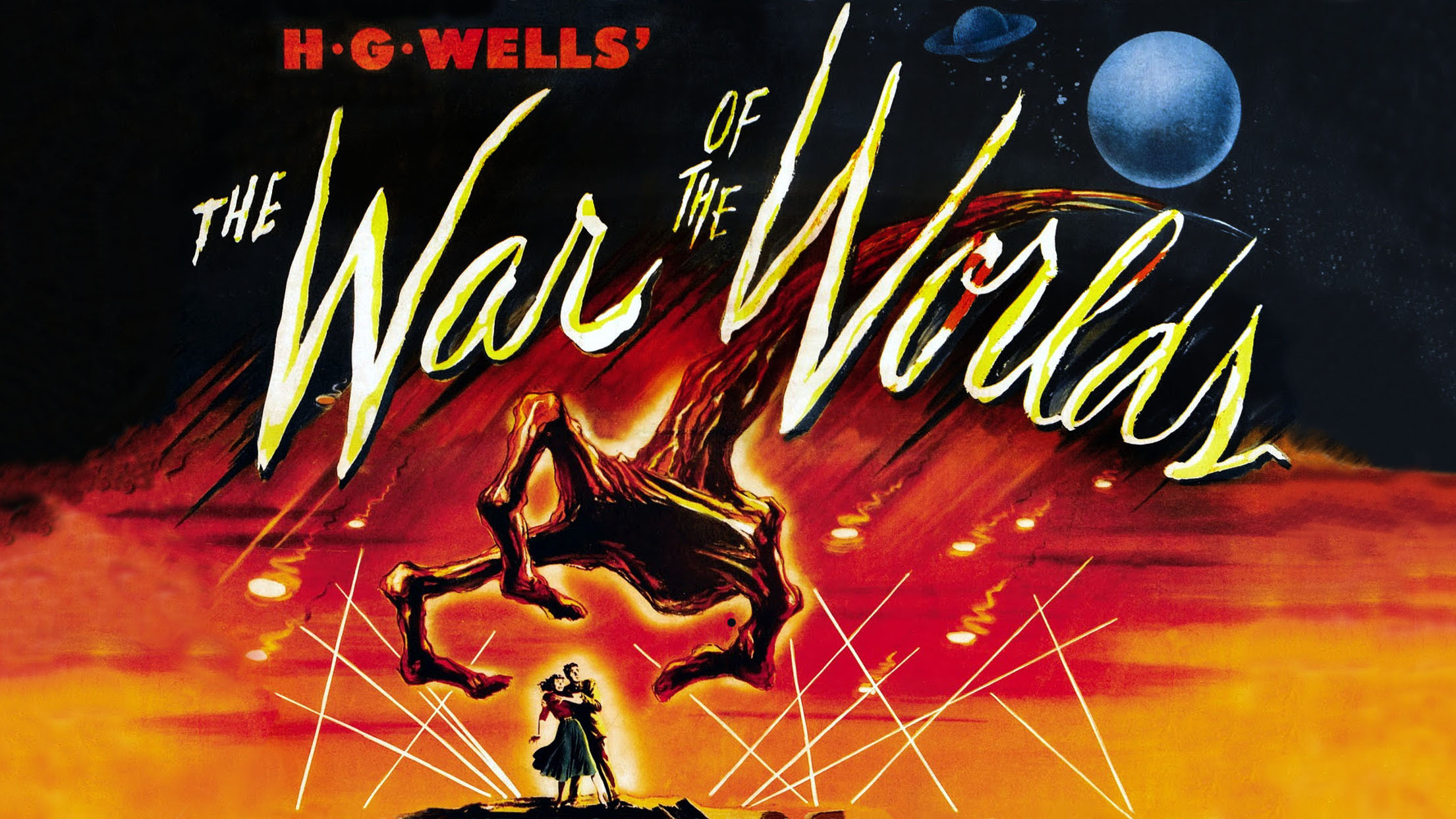 "Poster art for George Pal's 1953 film ""The War of the Worlds""."