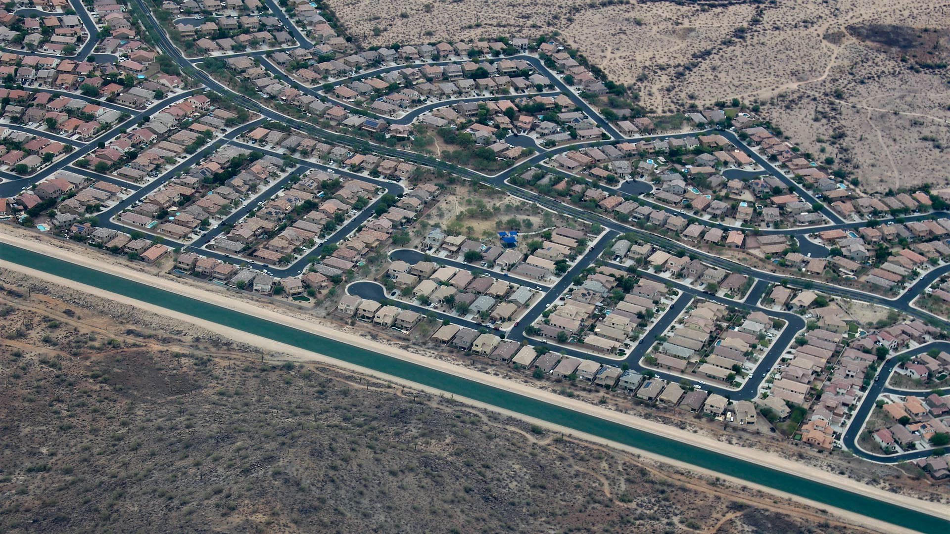 The Central Arizona Project pulls water from the Colorado River to provide for the cities of Phoenix and Tucson.