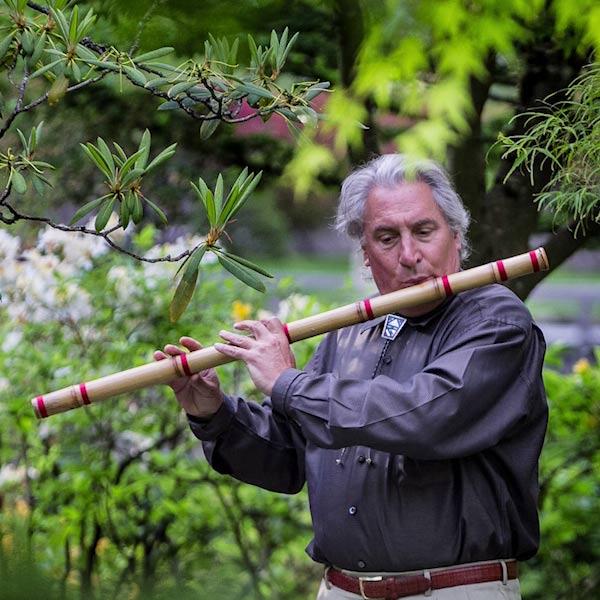 Flutist Gary Stroutsos
