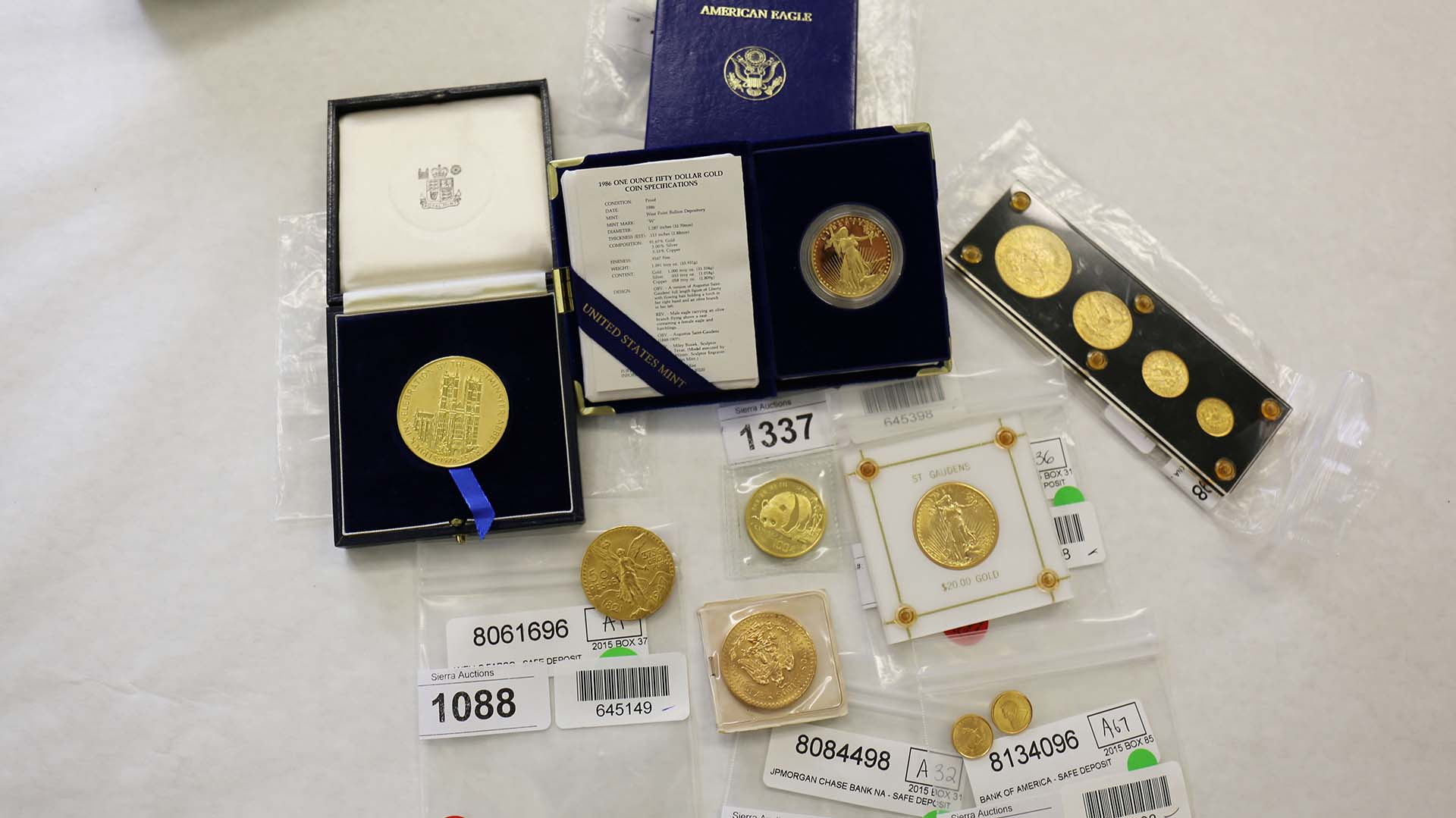 Gold coins are among the unclaimed property being auctioned off by the Arizona Department of Revenue in December 2018