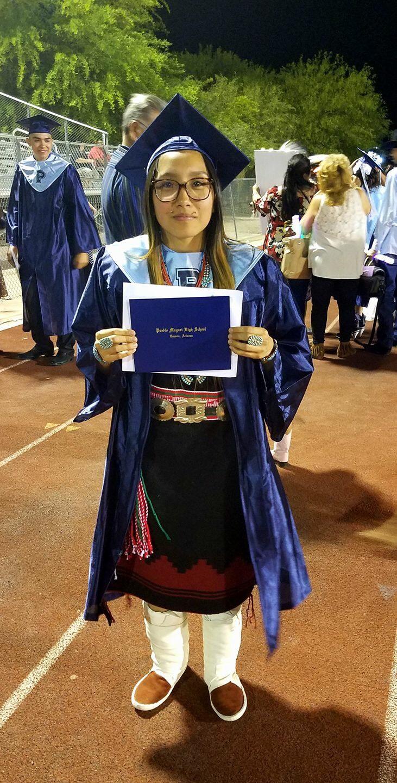 Maddy Graduates