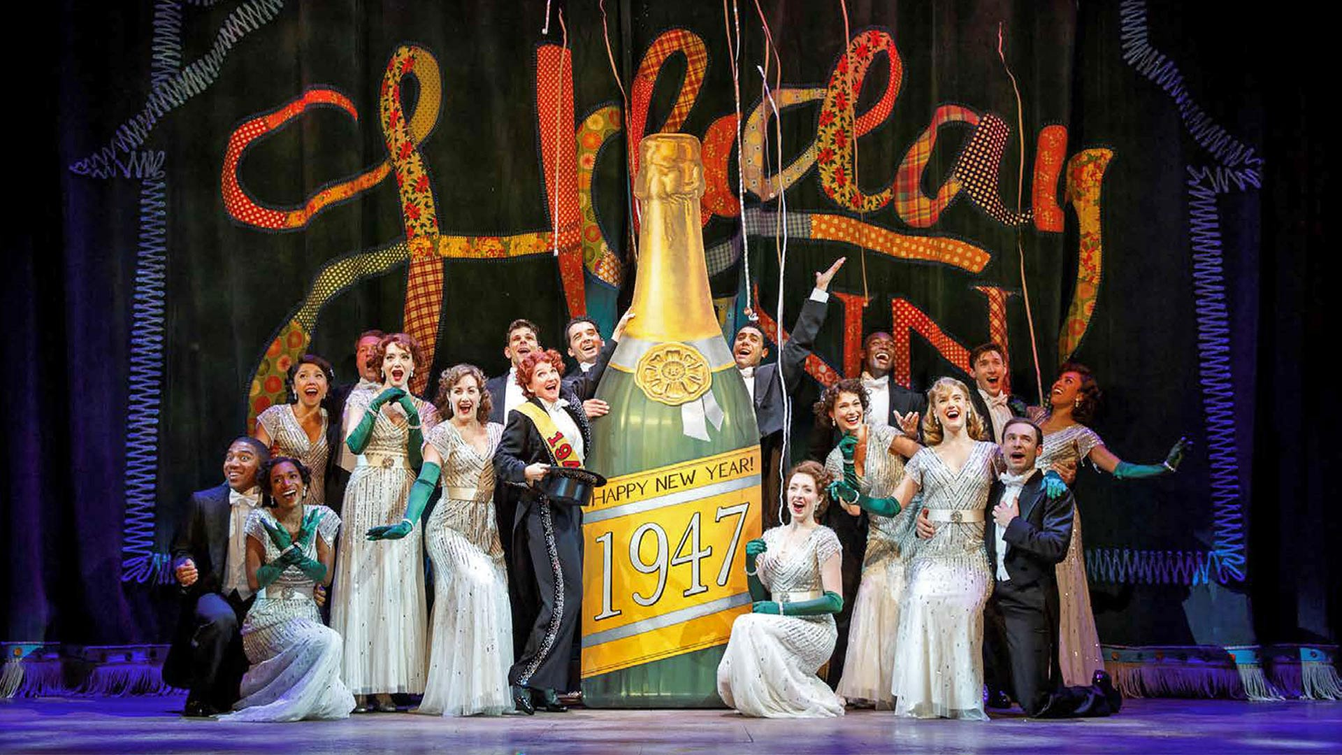 """The cast of """"Irving Berlin's Holiday In - The Broadway Musical"""""""