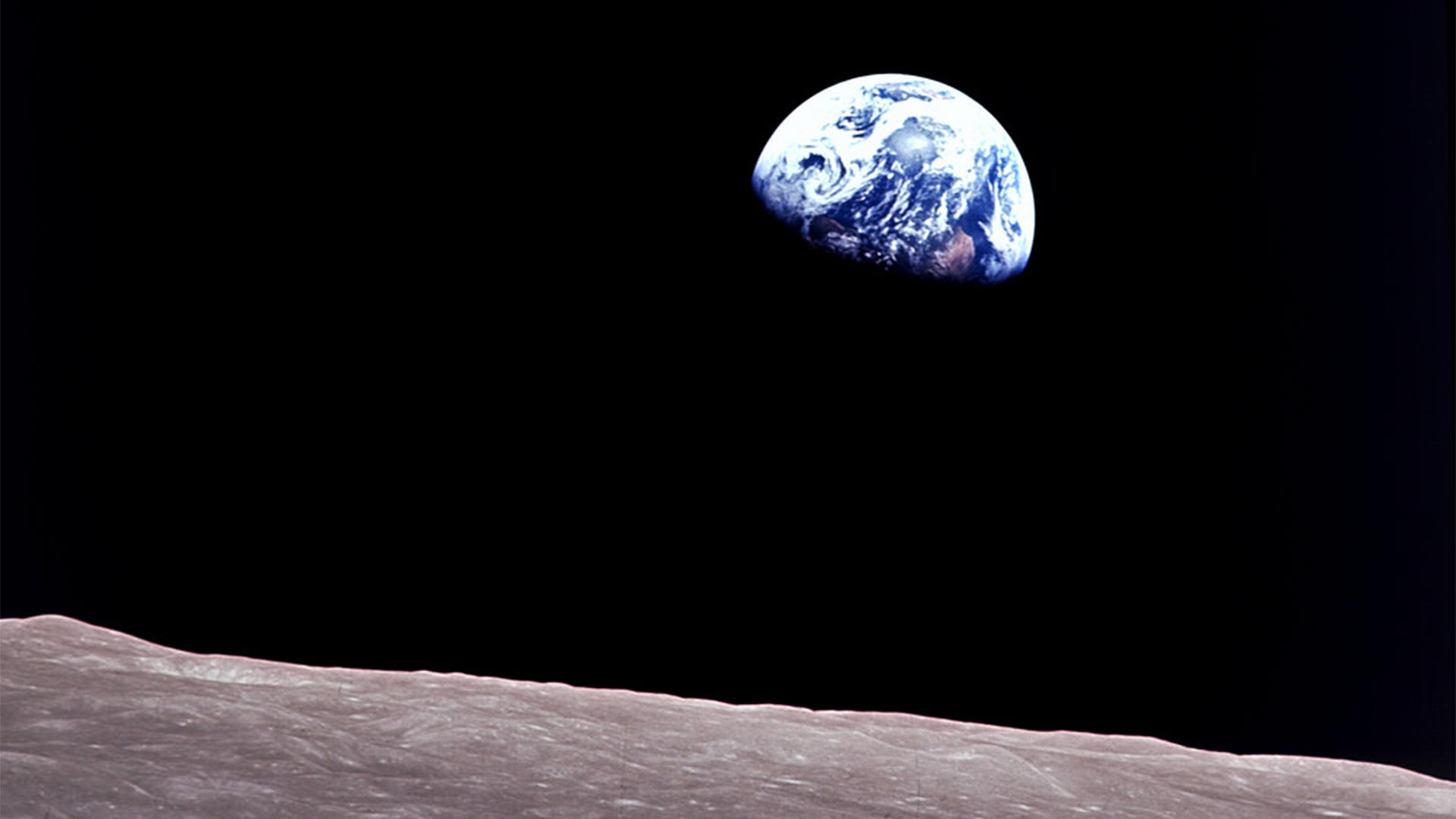 Apollo 8 Earthrise Photo
