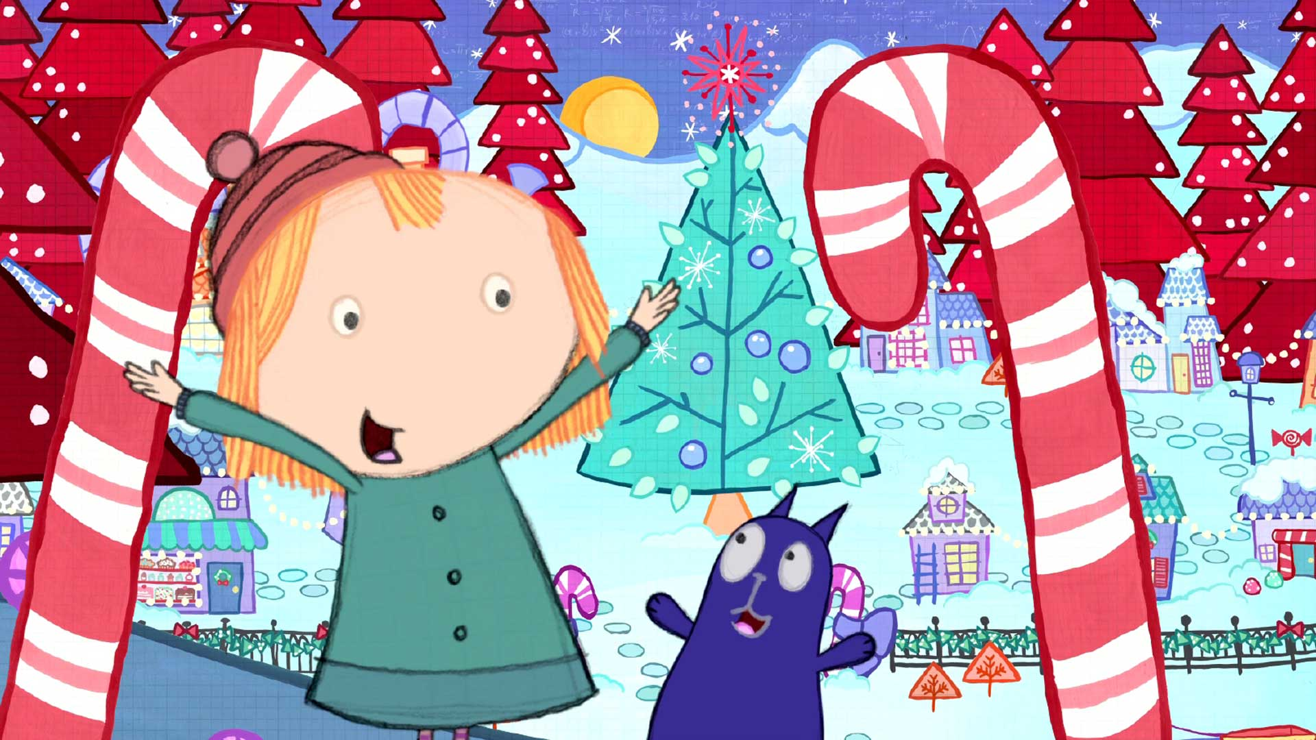Peg + Cat Christmas hero