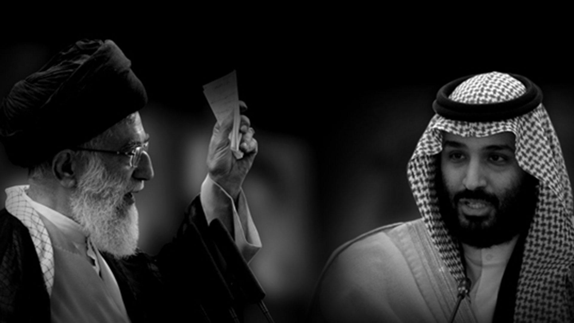 Pictured (l-r): Iran's Supreme Leader Ayatollah Ali Khamenei and Saudi Crown Prince Mohammed bin Salman.