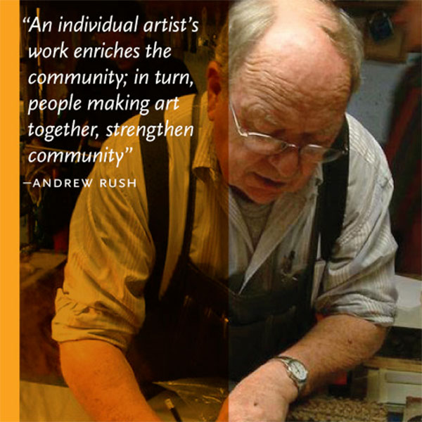 Inside the Artist's Studio; Intimate Conversations with Tucson's Influential Artists