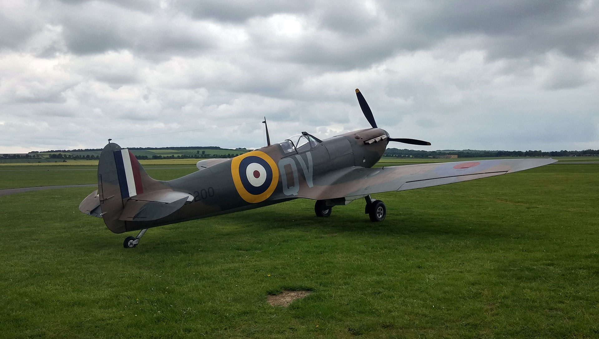 Rolls Royce engine recovered at the Mk 1 Supermarine Spitfire dig, Lincolnshire