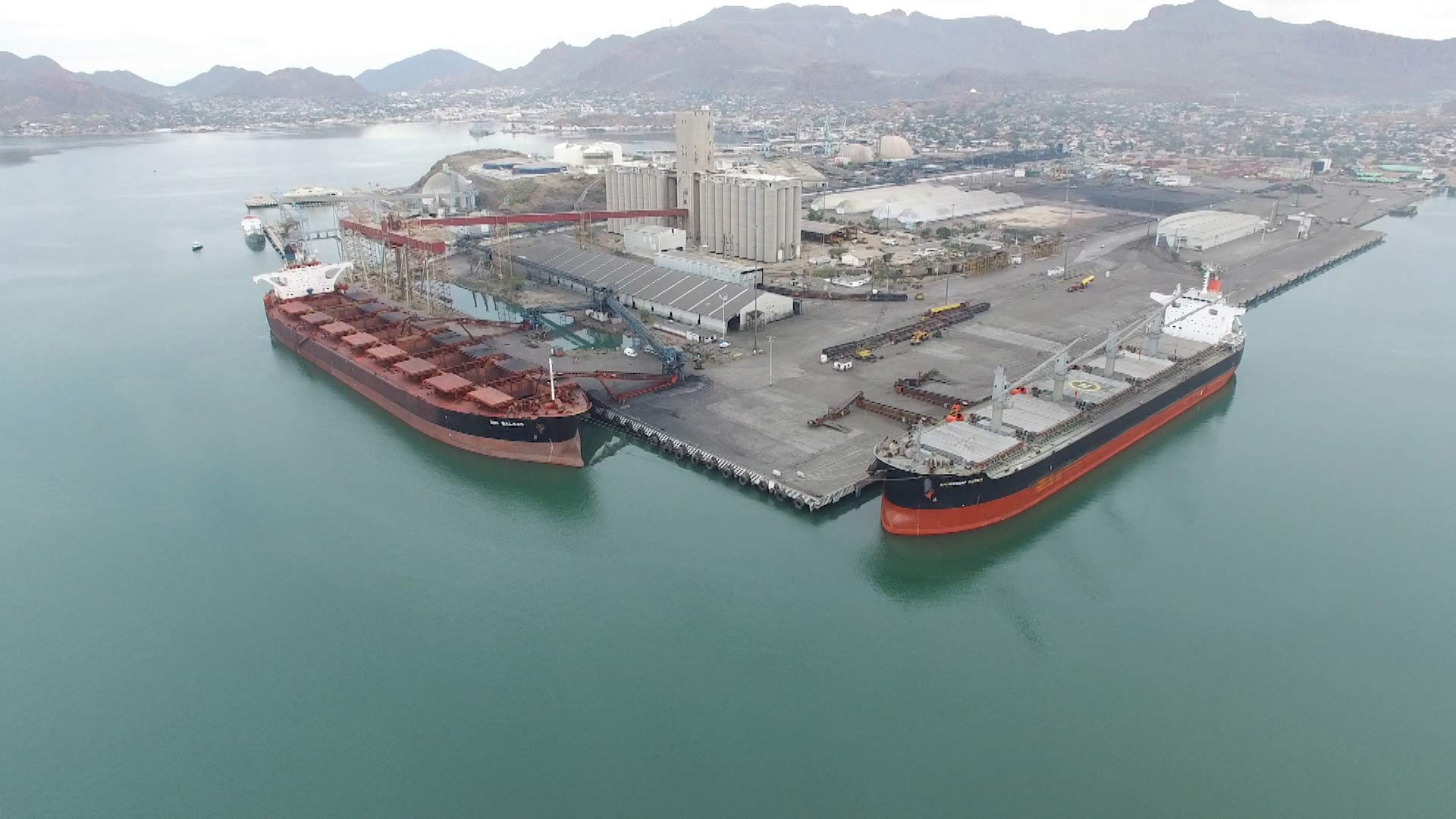 The Port of Guaymas, Mexico.