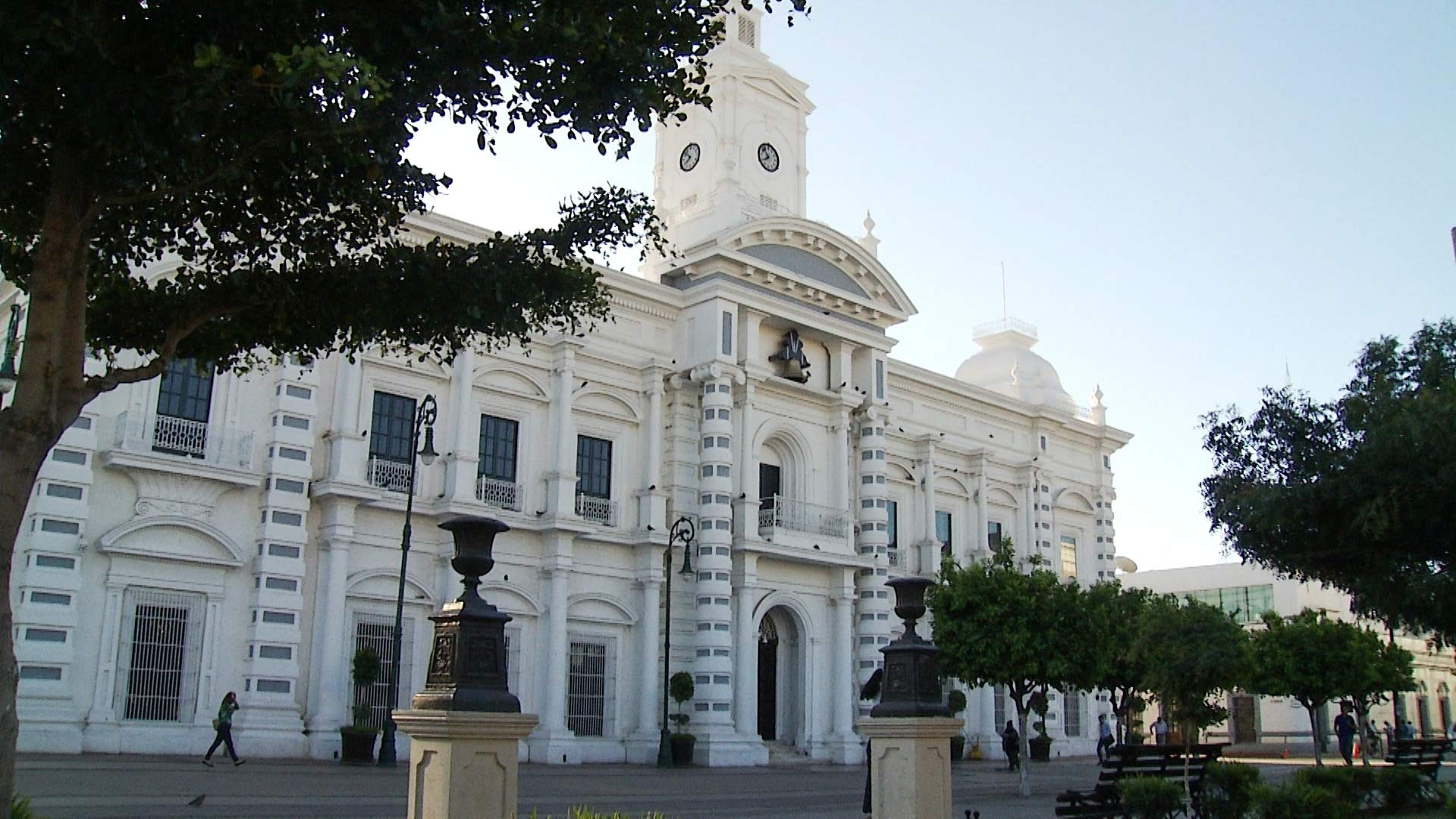 The Palacio de Gobierno de Sonora, or Government Palace of Sonora, in Hermosillo, Mexico.