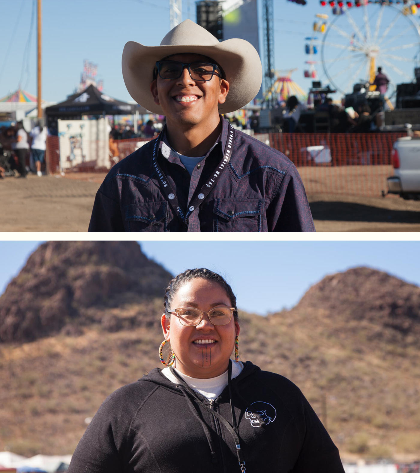 Rodeo Jalen and April diptych