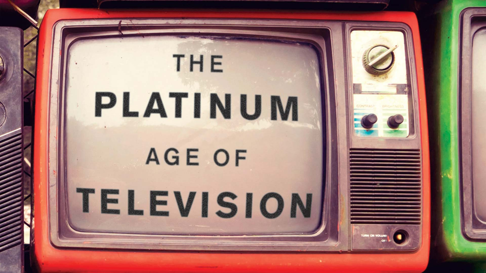 Image from the cover of The Platinum Age of Television, by David Bianculli.