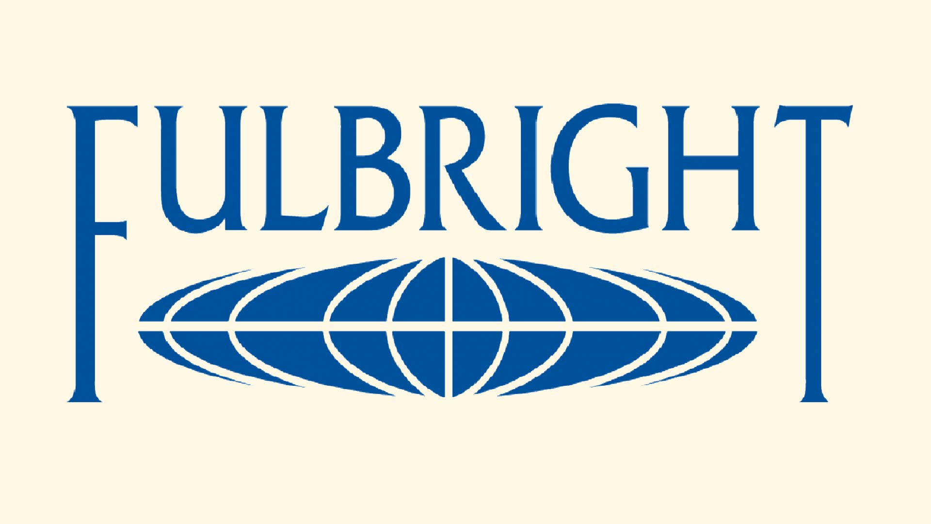 Logo for the Fulbright program.