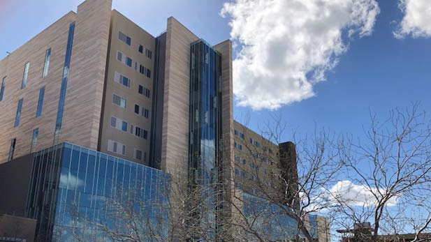 The new tower for Banner - University Medical Center Tucson, March 2018.