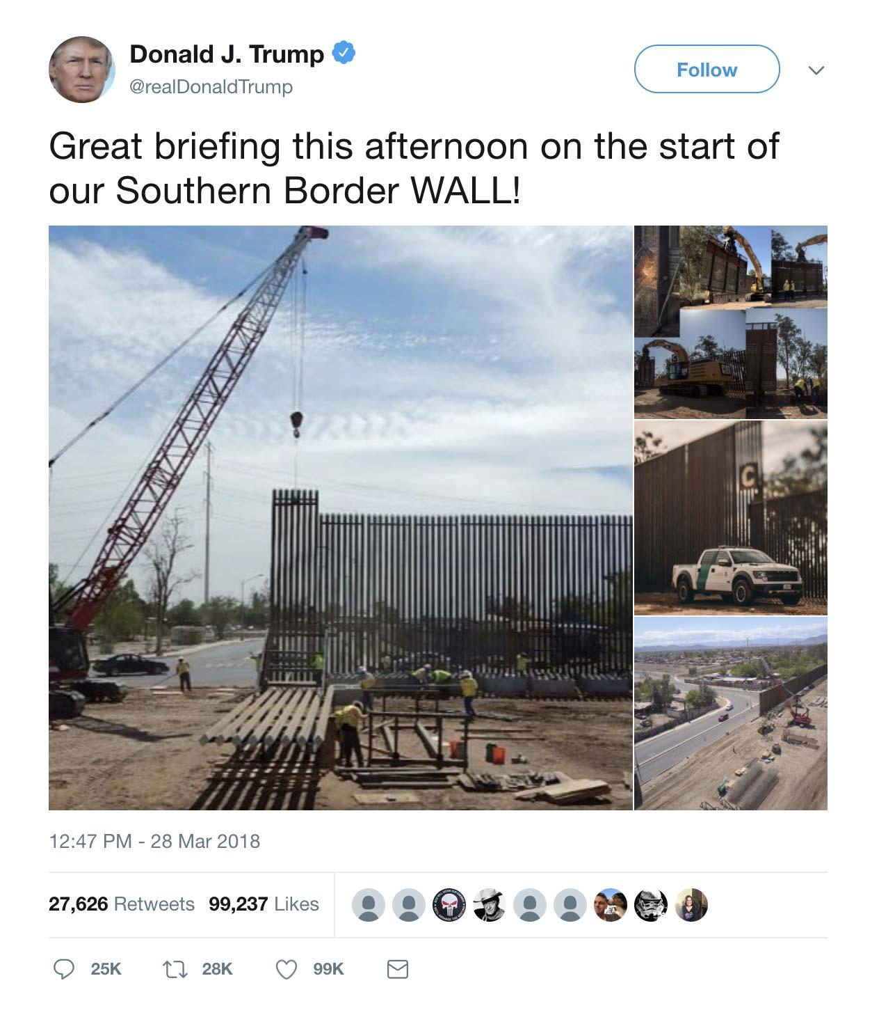 Trump Tweet VL