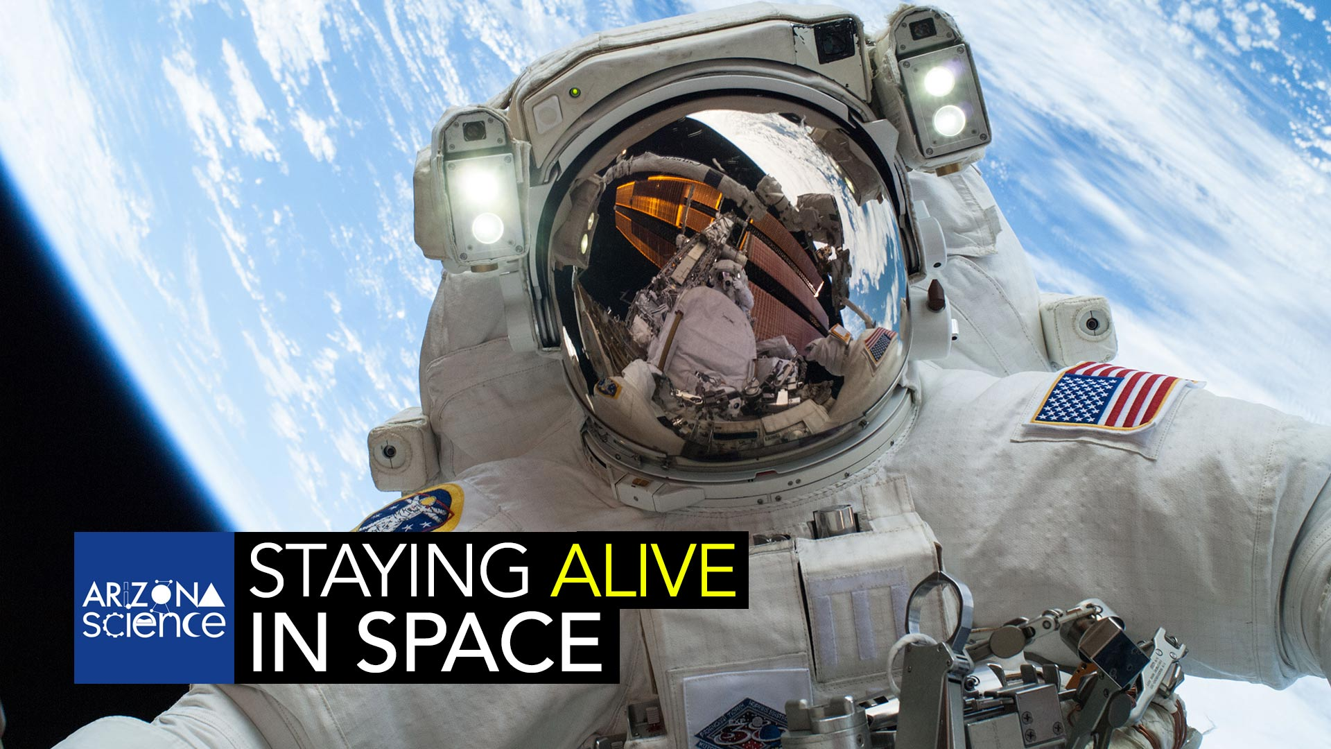 NASA astronaut Mike Hopkins, Expedition 38 Flight Engineer, participates in the second of two spacewalks.