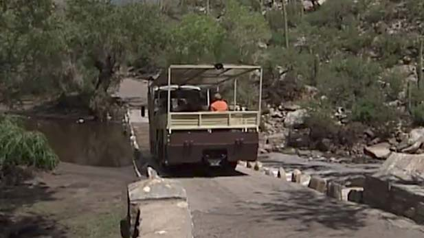 From the Vault: Sabino Canyon Repairs 2003