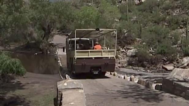 From the Vault: Sabino Canyon Repairs 2003
