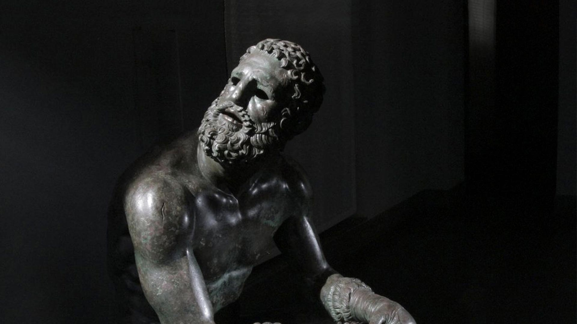 Boxer at Rest, Artist Unknown (c. 323-31 BCE) – Palazzo Massimo alle Terme Rome, Italy. Photo by Nutopia Ltd