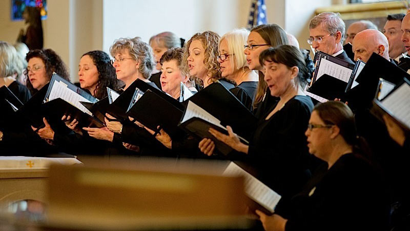 A performance by the Arizona Repertory Singers