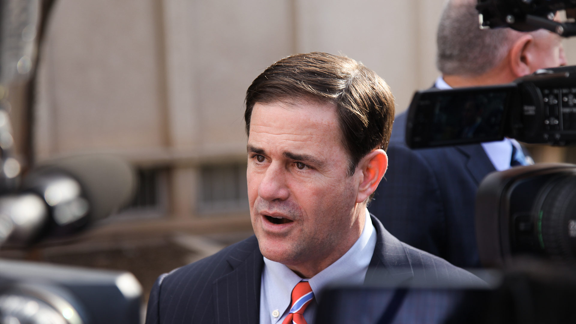 Arizona Gov. Doug Ducey's funding plan proposes a 19 percent pay increase for teachers by 2020.