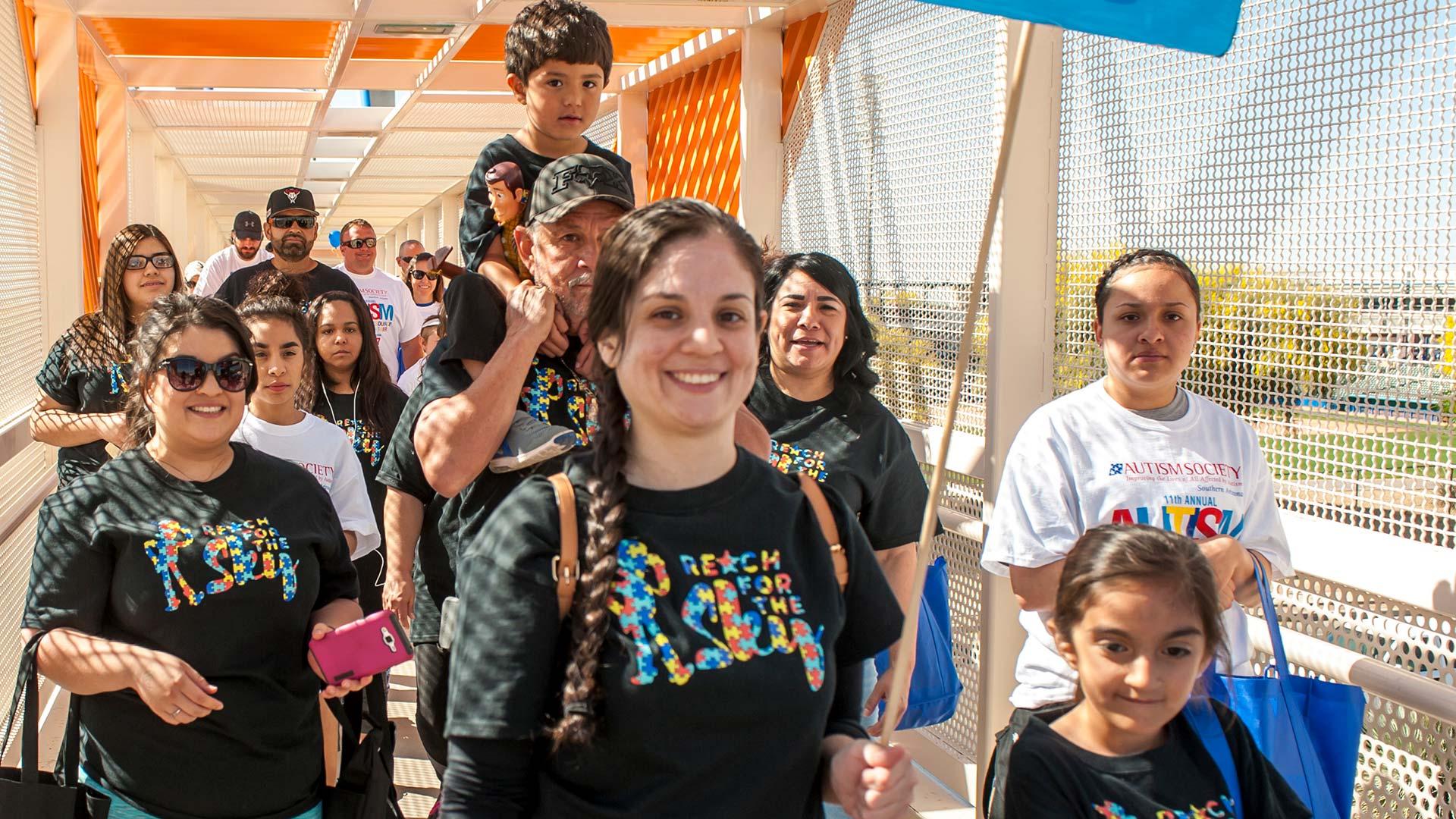 autism walk group spotlight