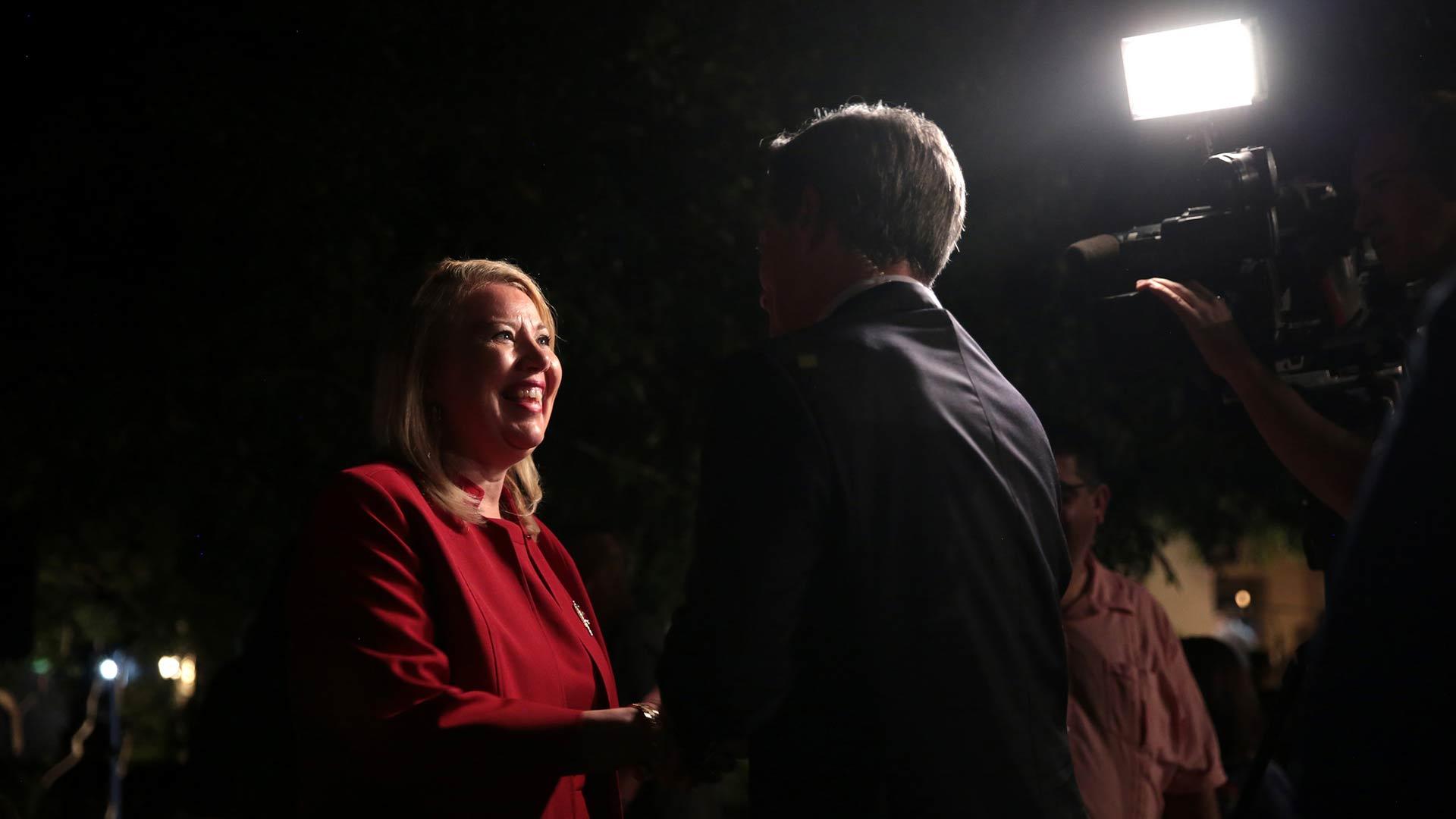 Former state Sen. Debbie Lesko, April 24, 2018.