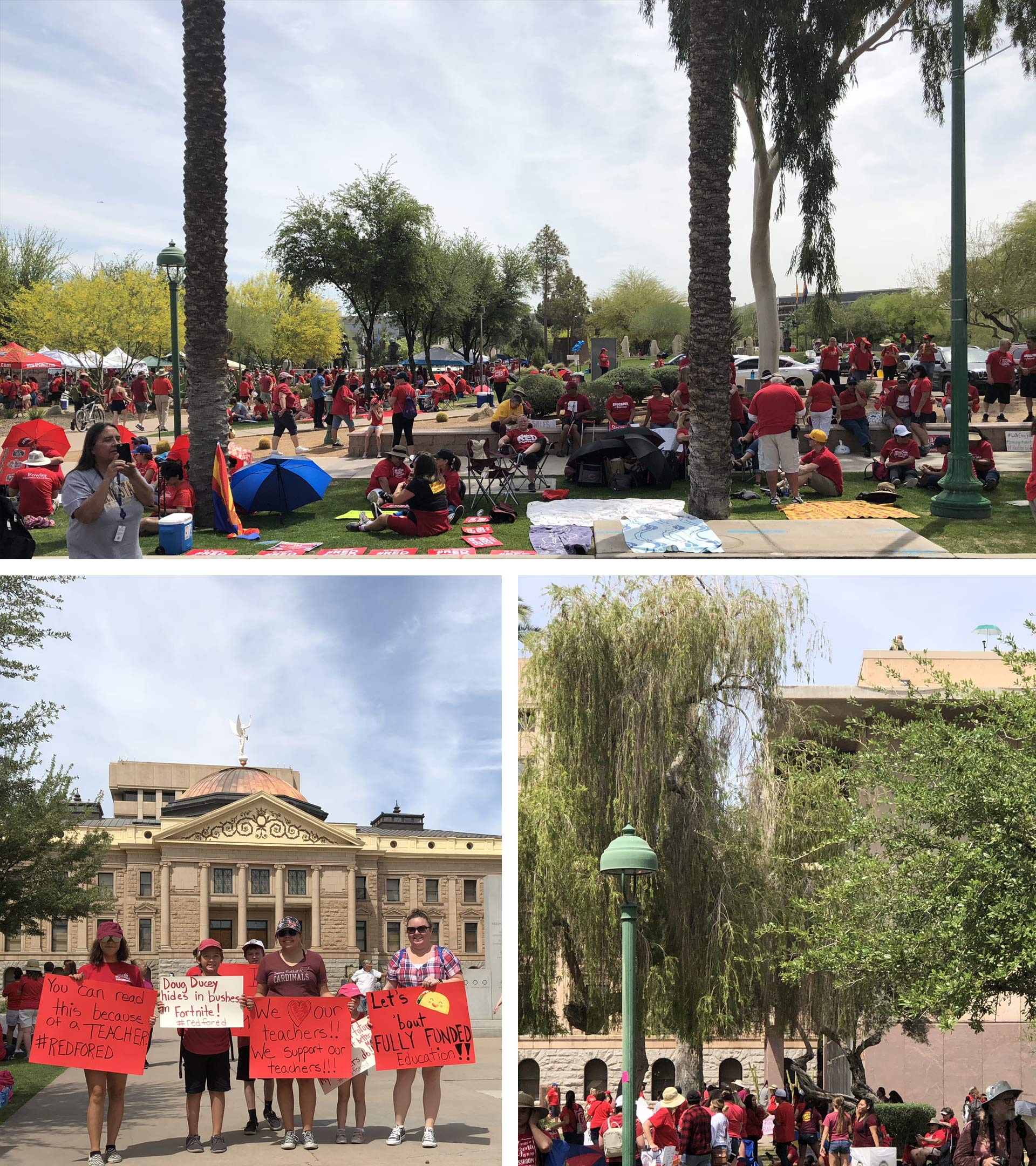 Morning redfored protests trip unsized