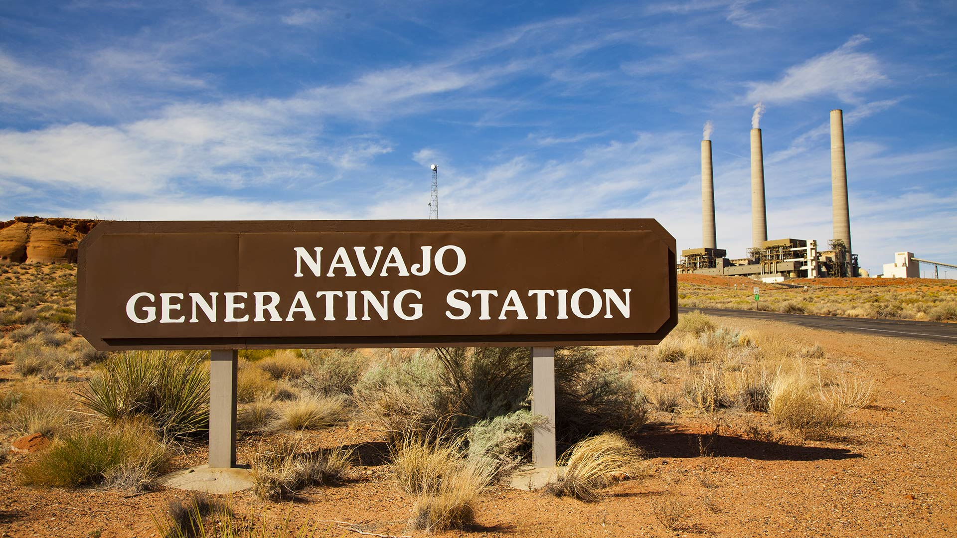 The Navajo Generating Station, April 2018.