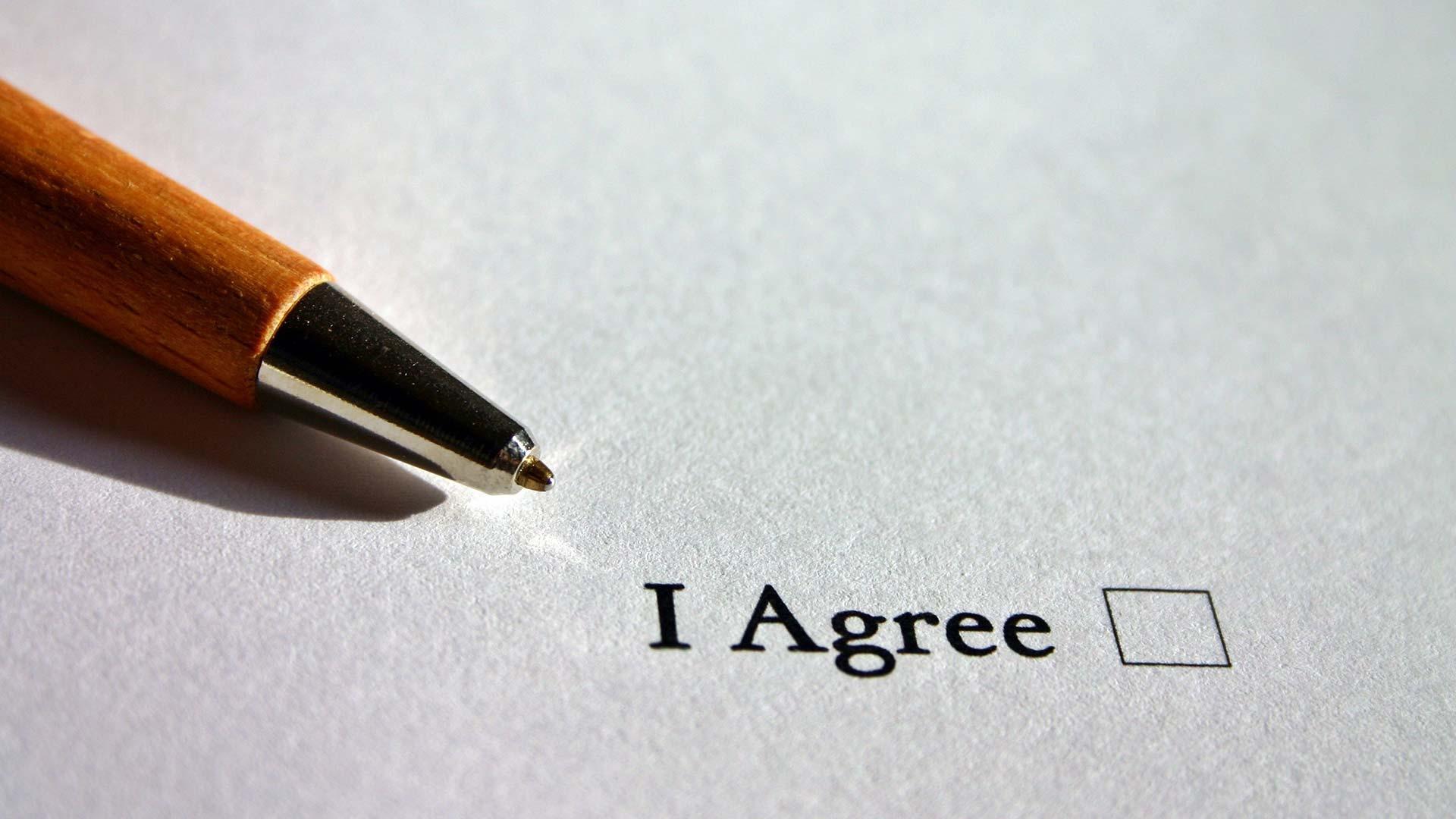 agree agreement