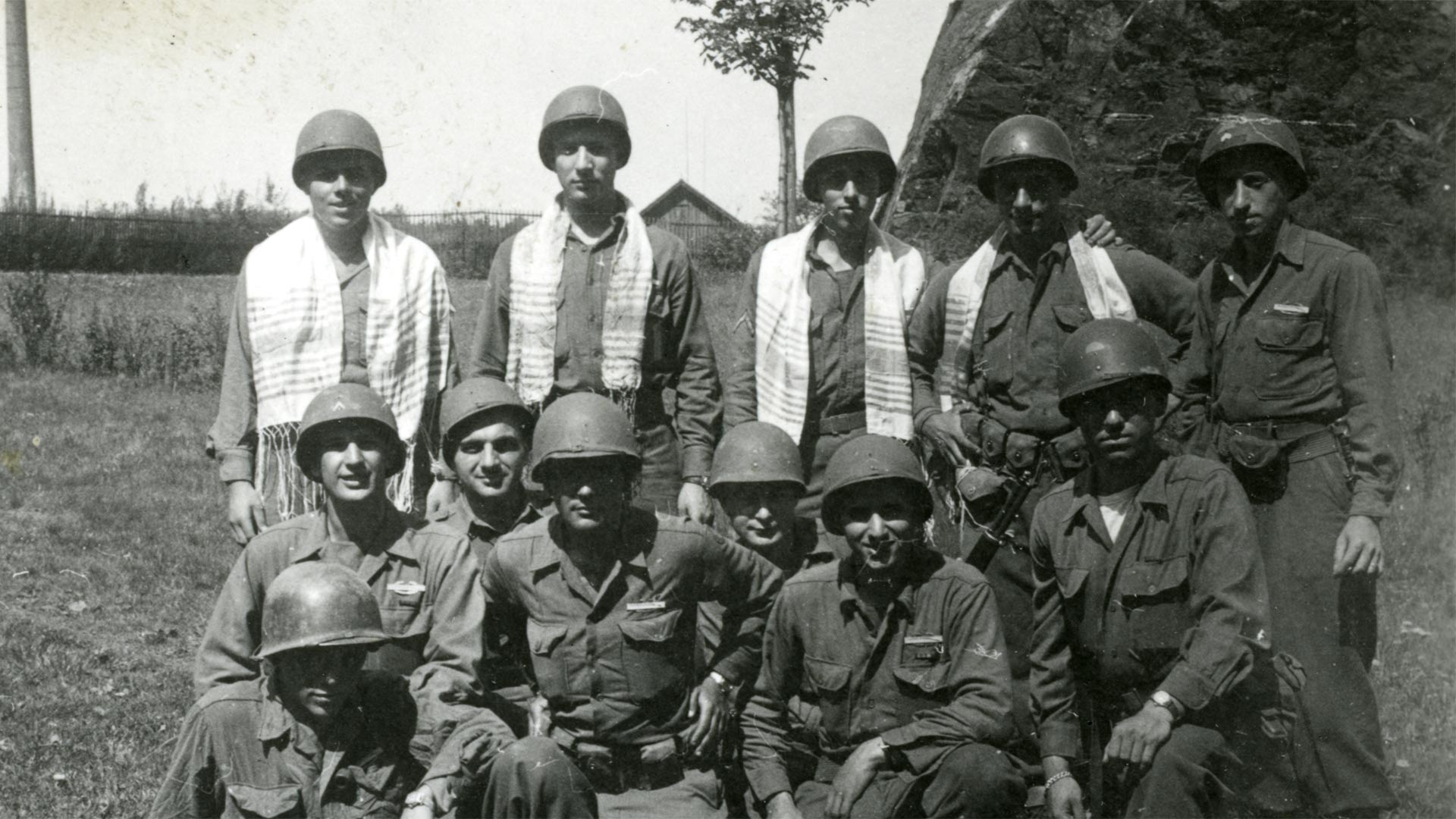 Jewish American soldiers in WWII.
