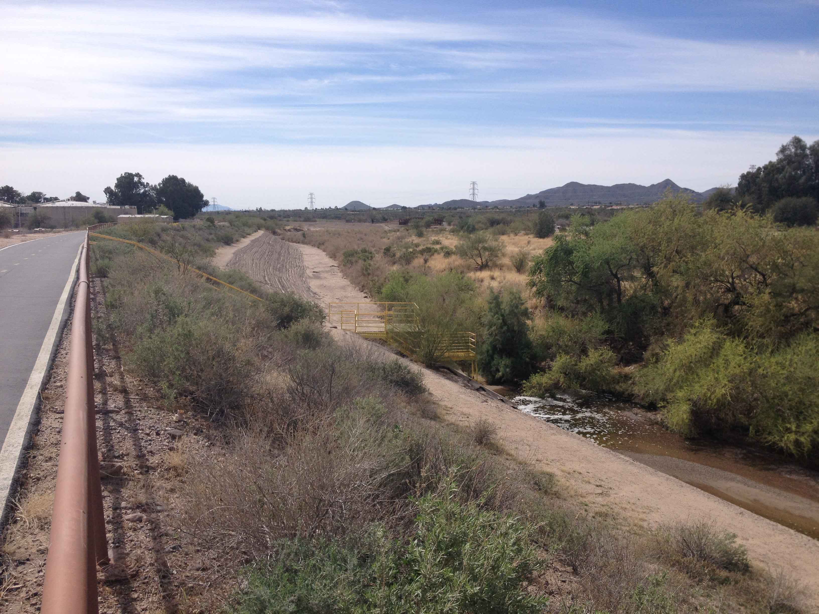 Santa Cruz dry and wet