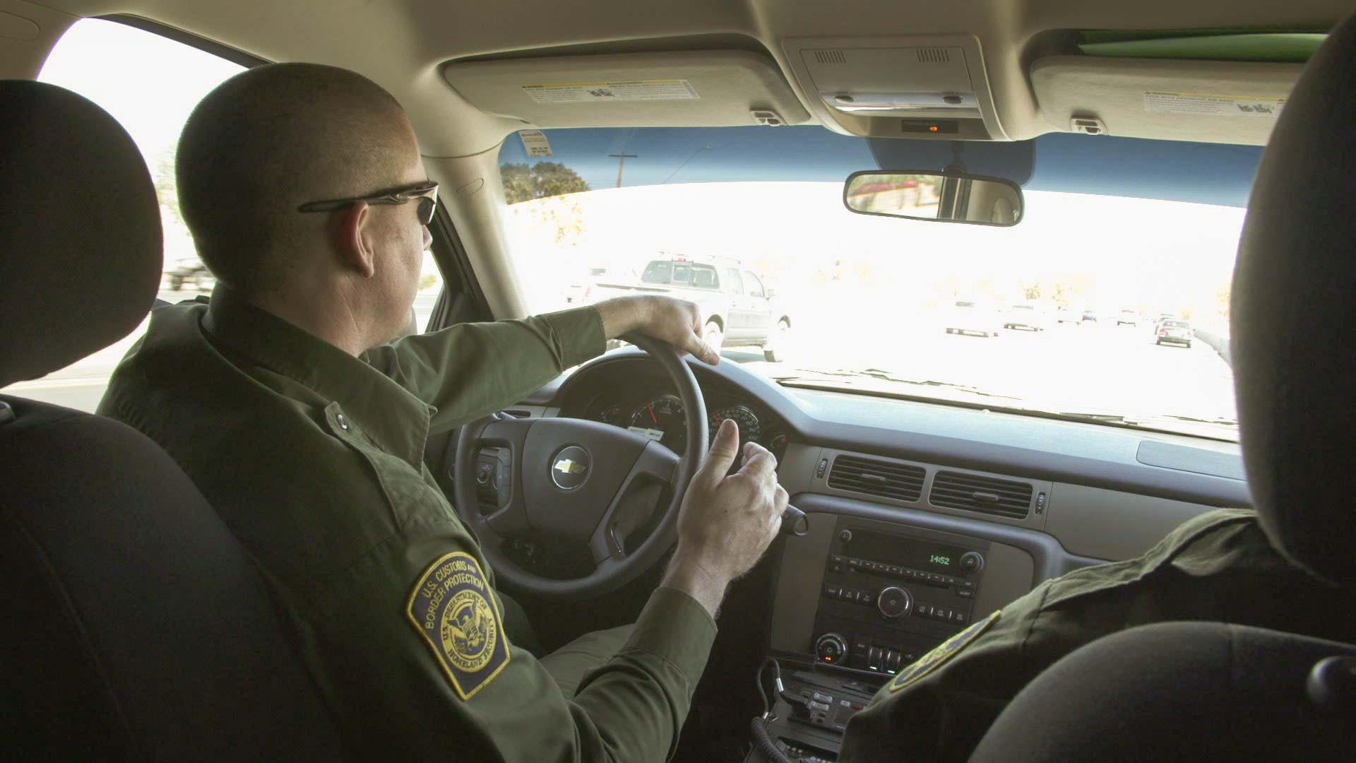 Tucson Sector Border Patrol agent Nick Robbs