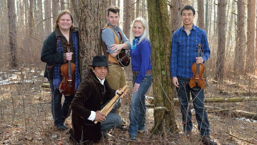 ETHEL, a contemporary string quartet, and Native American flutist, composer and storyteller Robert Mirabal.