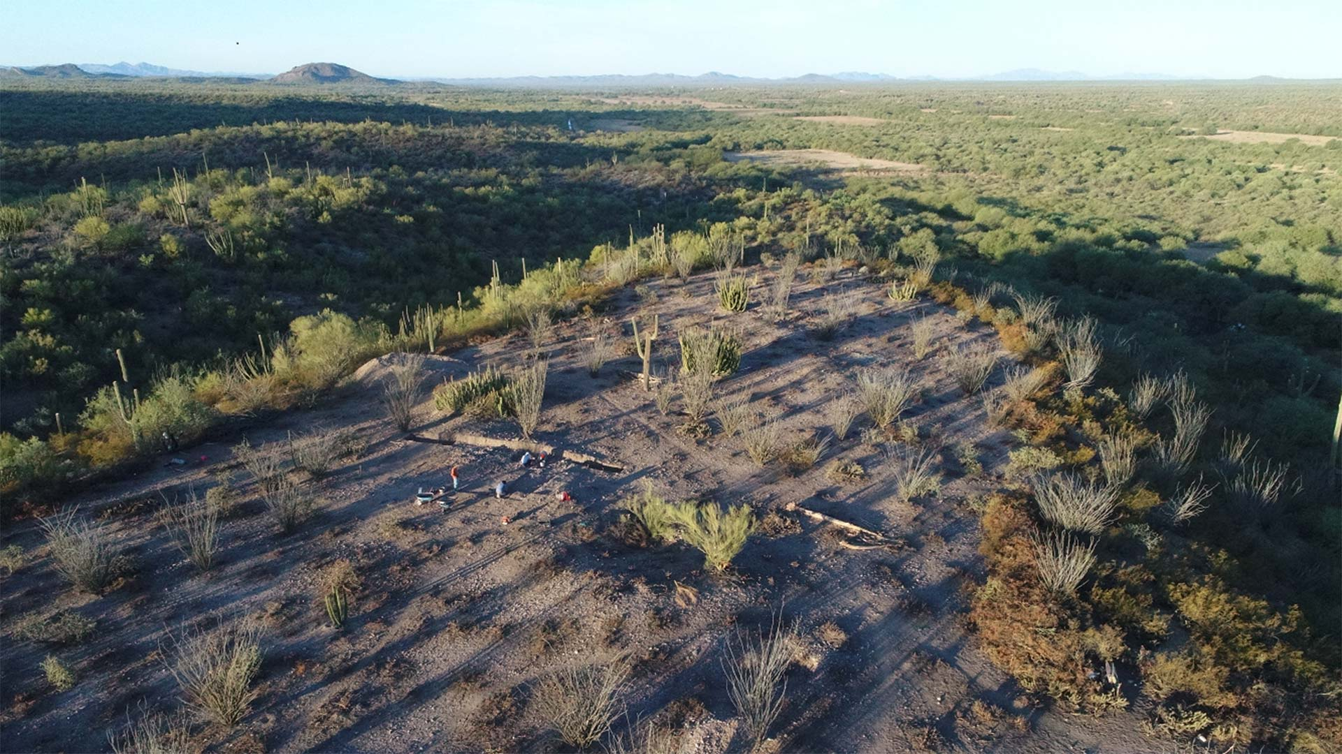 Archaeologists from the U.S. and Mexico explore several ancient sites near the Arizona-Sonora border.