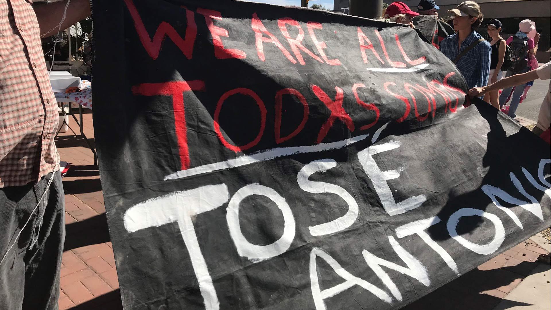 Jose Antonio Elena Rodriguez protest 051118