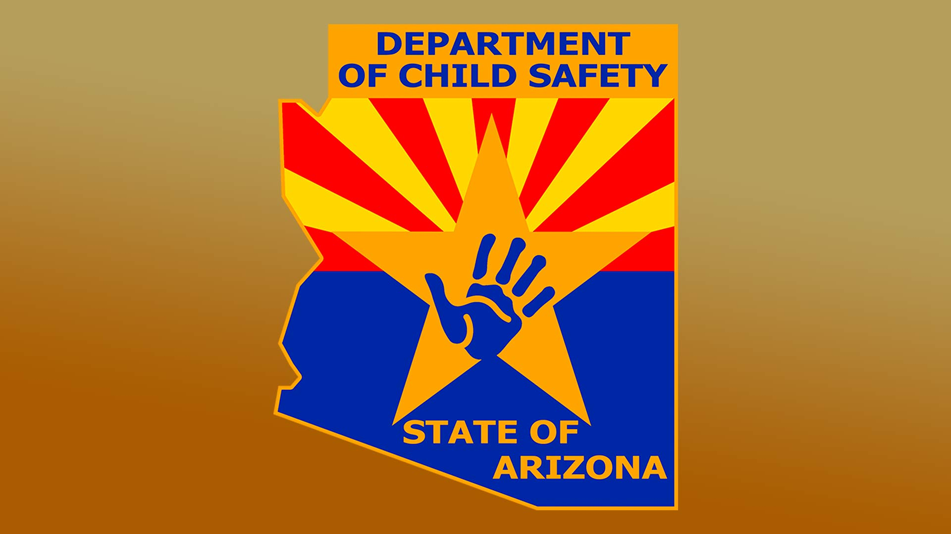 Logo for the Arizona Department of Child Safety.