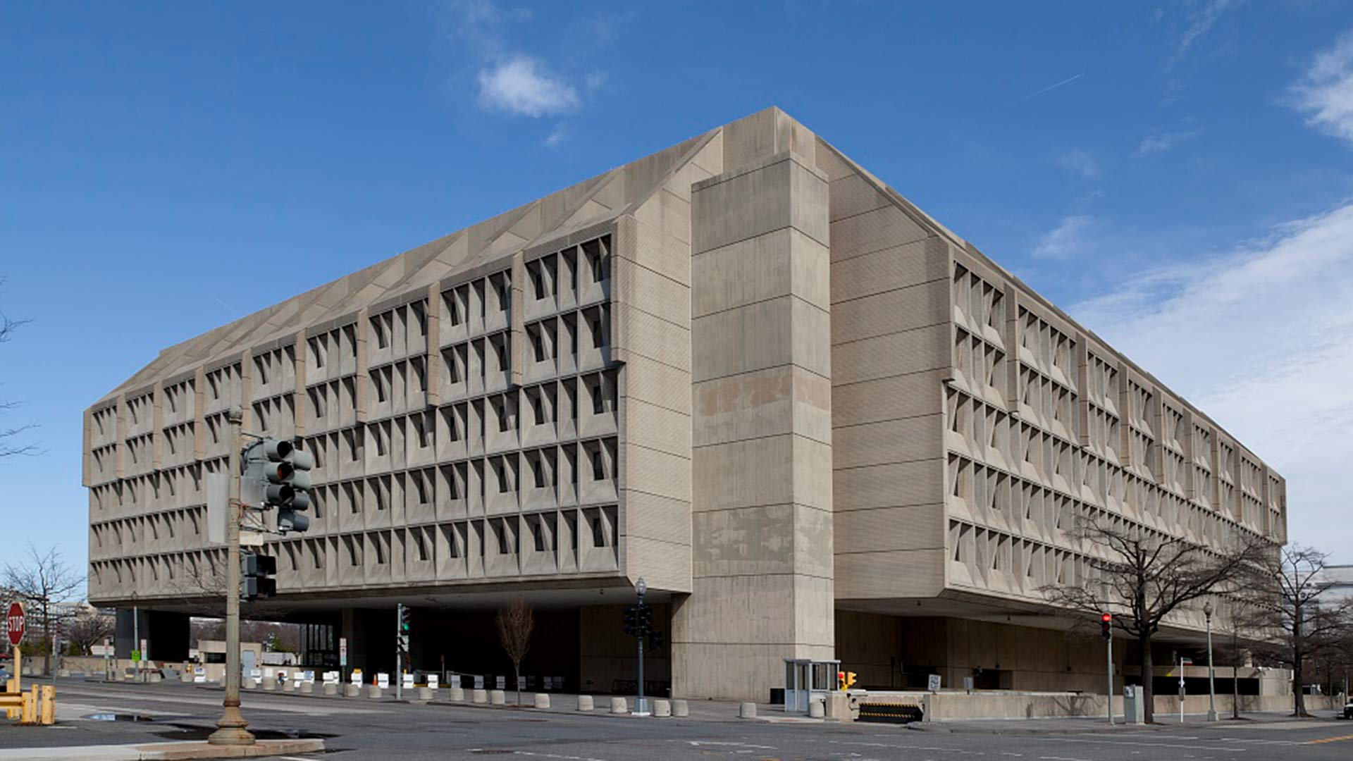 The Hubert H. Humphrey building in Washington, D.C., headquarters of U.S. Health and Human Services.